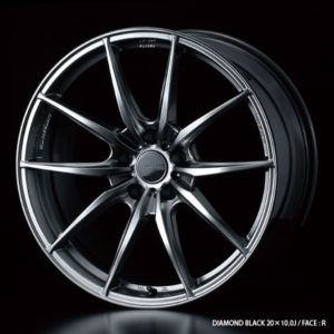 Wedssport FT-117 Forged Wheel. Made in Japan